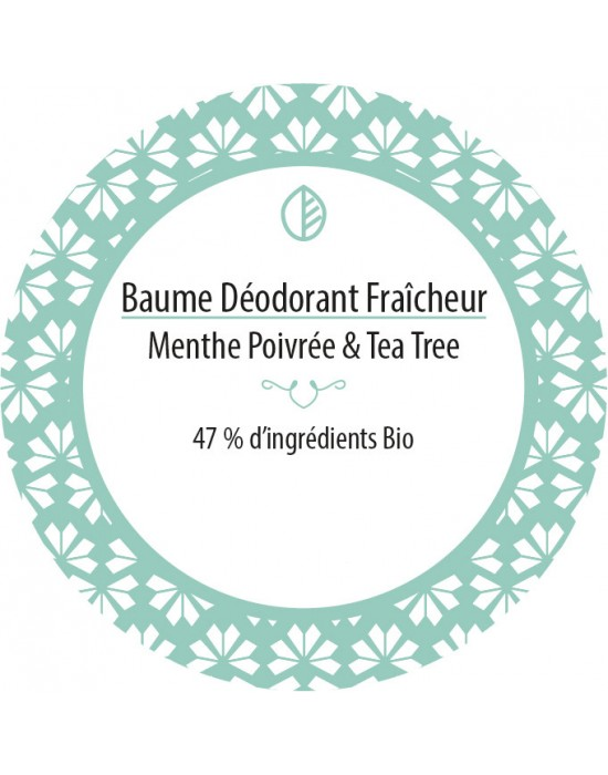 Baume deodorantMenthe Tea Tree