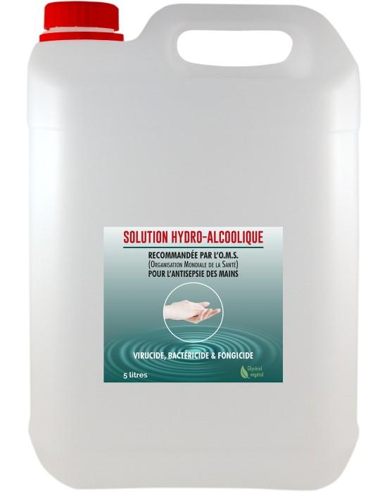 Solution hydro-alcoolique 5 litres